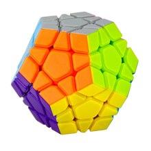Yongjun MoYu Yuhu Megaminx cubo mágico Puzzle velocidad cubos juguetes para niños juguetes educativos