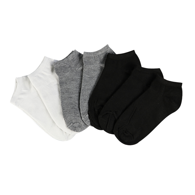 7Pair Women's   Socks   Short Female Low Cut Ankle   Socks   For Women Ladies White Black   Socks   Short Chaussette Femme