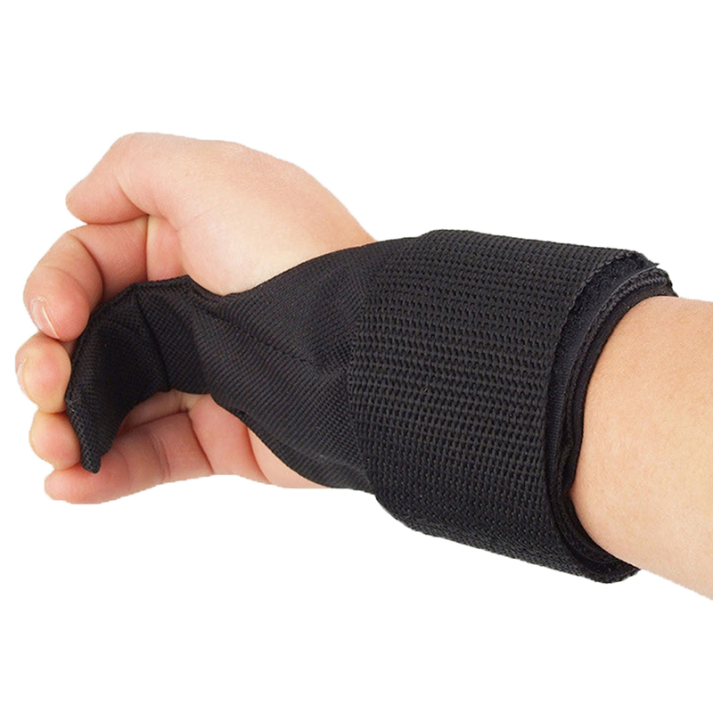 Weight Lifting Bar Hook Training Wrist Support Gym Straps Power Lift Gloves