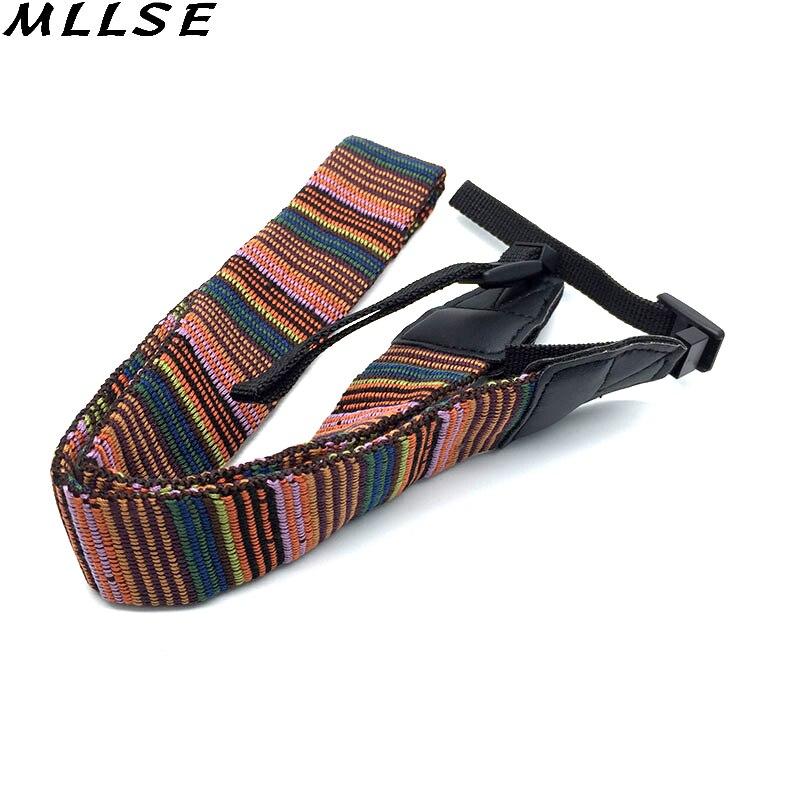 MLLSE 10pcs Universal Camera Shoulder Neck Vintage Single Sling Strap Belt For Canon EOS Nikon Sony For Camera DSLR Accessories