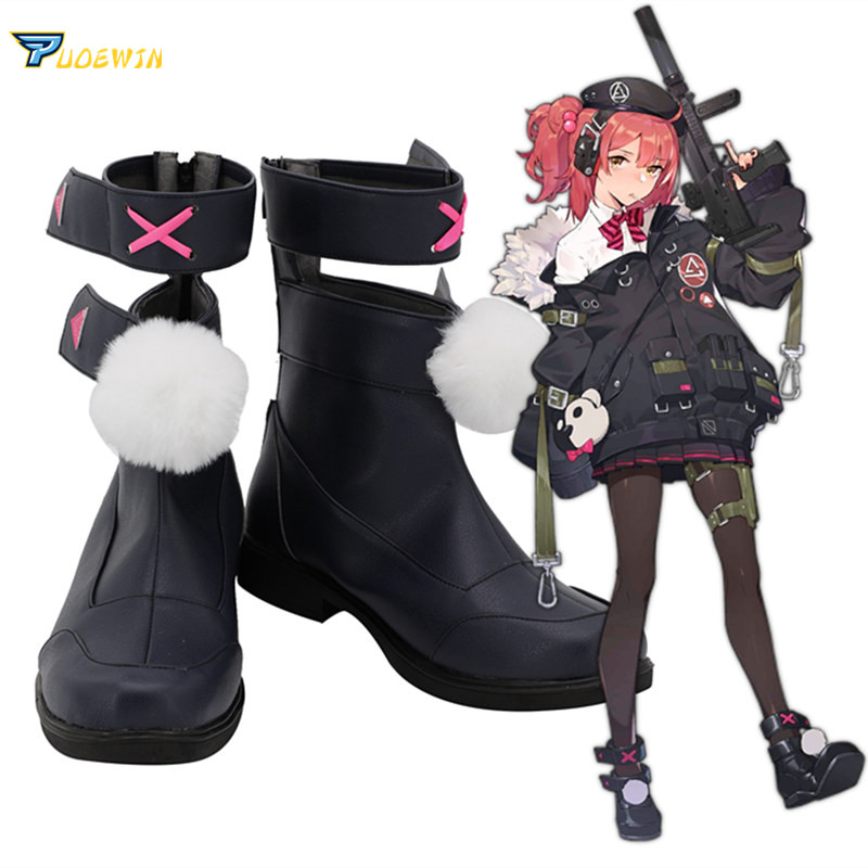 Girls Frontline Mp7 Cosplay Shoes Custom Made Boots in Shoes from Novelty Special Use