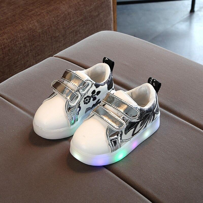 Boy & girl Led Children Shoes Luminous sneakers dla dziewcząt i - Obuwie dziecięce - Zdjęcie 3