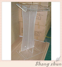 customized acrylic lectern