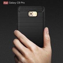 Case For Samsung Galaxy C9 Pro Cover Silicon for Soft Silicone Hoesje Coque Fundas Etui