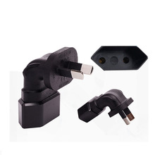 2PCS EU To the AU Conversion Plug Adaptor With  AC Power Adapter Mobile Phone Travel Wall Charge