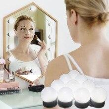 Led mirror light Hollywood makeup LED bulb fill powder lipstick lamp waterproof bathroom