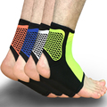 1PCS Sports Ankle Support Ankle Pads Elastic Brace Guard Foot Ankles Protector Wrap For Bicycle Football Taekwondo Basketball