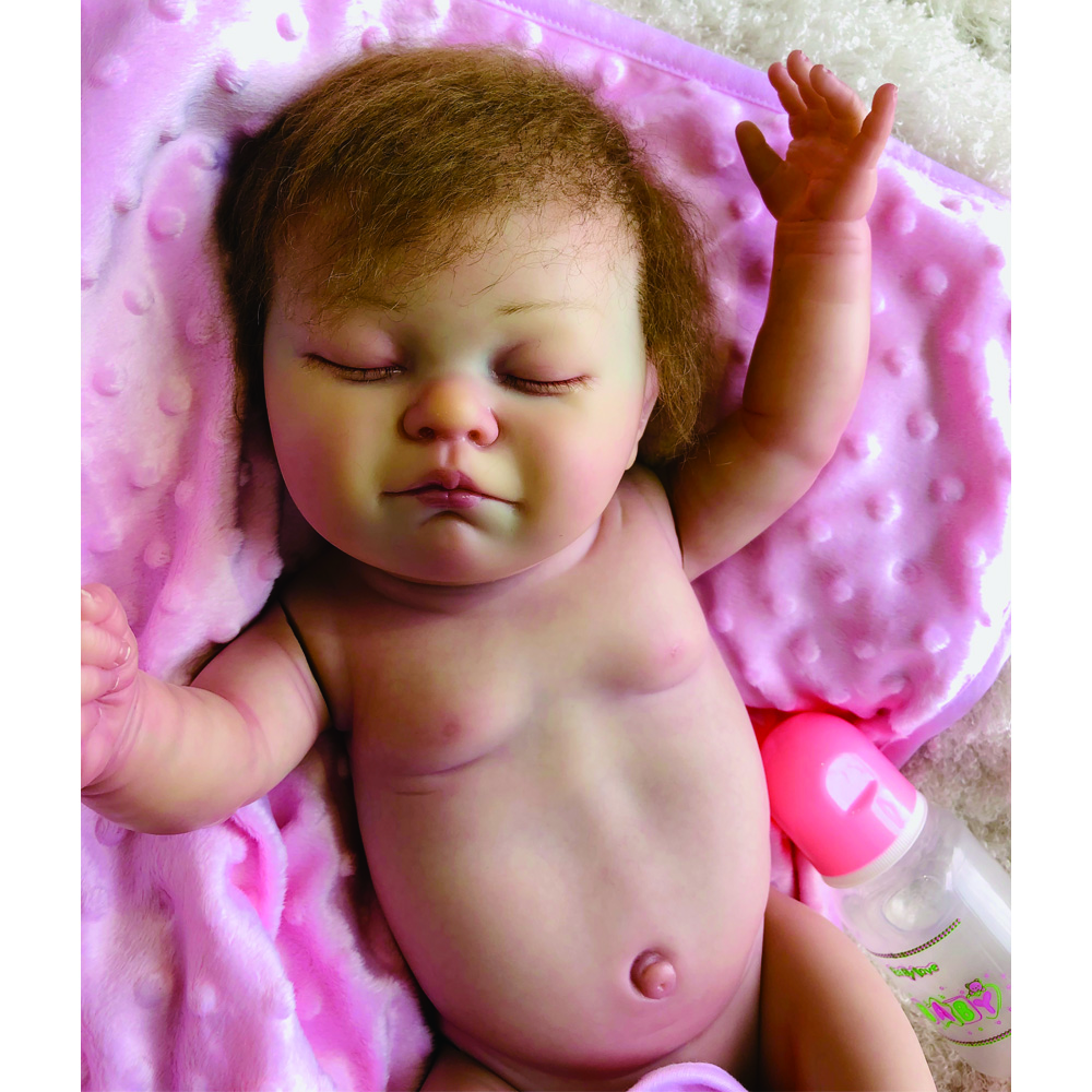 Baby Dolls Vip Us 230 39 20 Off High Quality Bebe Reborn Doll 20 Inch Full Silicon Vinyl Reborn Baby Doll Blood Vessel Vivid Rich Painting Julie For Collection In