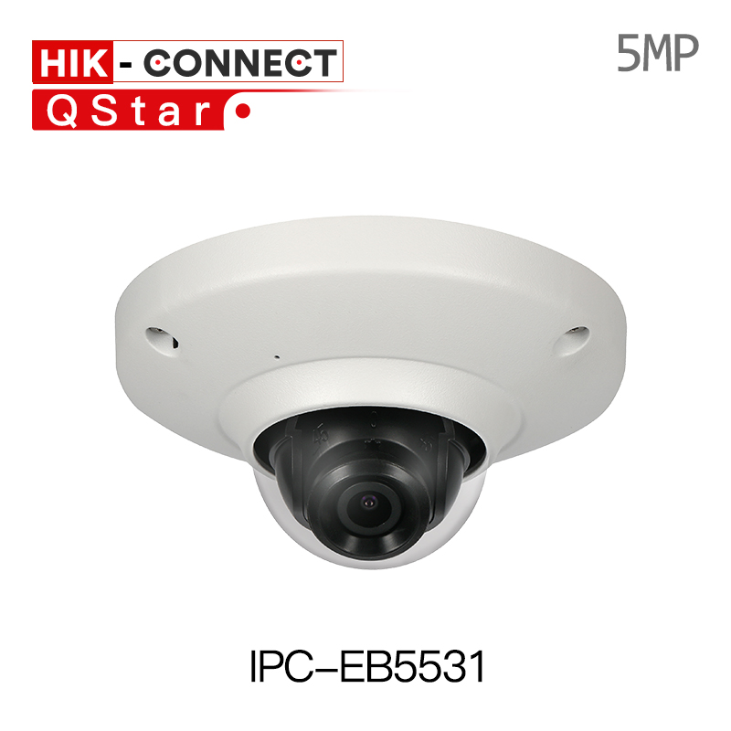 цена на DH IPC-EB5531 5MP H.265 WDR Panorama 180 Degree built-in MIC SD card slot POE Network Fisheye IP Camera replace IPC-EB5500