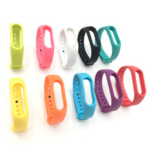 1 pc Xiaomi Silicone Colorful Wristband for Mi Band 2 Smart Bracelet