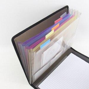 Image 2 - משרד משולב עסקים ארגונית תיק A4 תיקיית קובץ הרחבת תיקיית תיק עבור מסמכים
