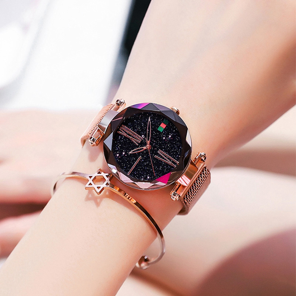 DOM Watch Women Watches Female Clock Ladies Wristwatch Fashion Luxury Famous Brand Starry Crystal reloj mujer relogio feminino