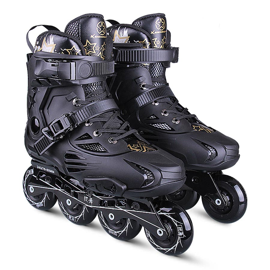 Japy Skate Inline Slalom Skate Adult's Roller Skating Shoes Inline Skates Professional Patines For Street Free Skating Men Women