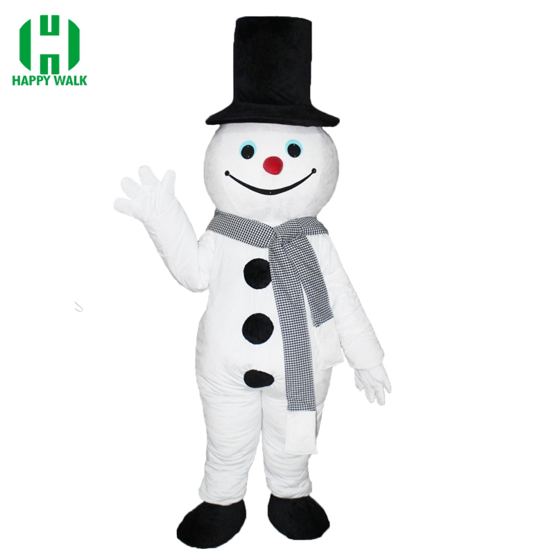 Good Quality Olaf Mascot Costume Carnival Party Snowman Adult New Olaf Mascot Costume Funny Dress Clothing Christmas Party Suit