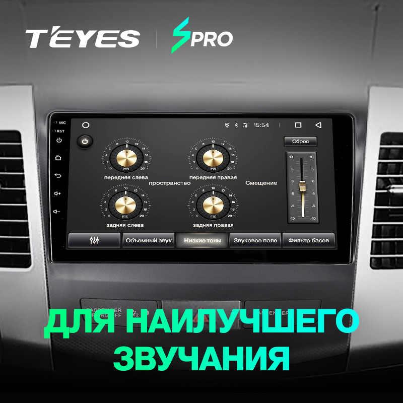 TEYES SPRO Штатное Головное устройство For Mitsubishi Outlander xl /4007 GPS Android 8.1 aвтомагнитола магнитола автомагнитолы Андроид для Мицубиси Аутлендер 2 аксессуары штатная магнитола автомобильная мультимедиа