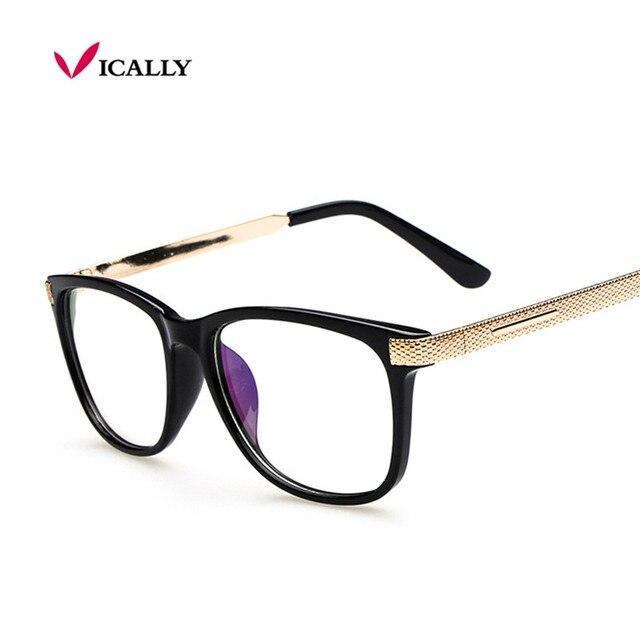 0f1153afa634d Vintage Fashion Anti-Radiation Eyeglasses Myopia Retro Vintage Optical  Glasses Frame Plain Eye Glasses Oculos De Grau Femininos