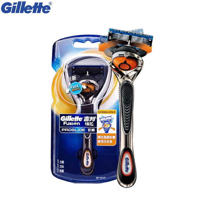 Straight Manual Razor Gillette Fusion Proglide Shaving Hair Removal Razors Beard Shaver Safety Original Razors Blades 1pcs yingjili razor manual razor metal holder 3 layers razor blades safty shaver for man care