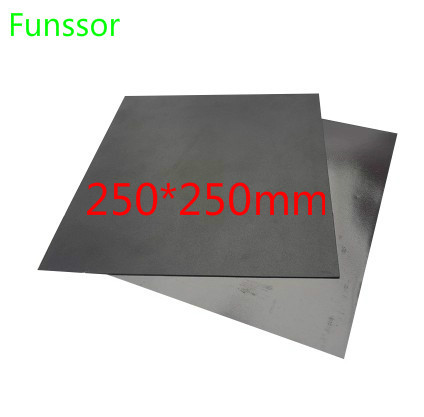 250x250mm 10 X 10 Inch Magnetic Adhesive Print Bed Tape Print Sticker Build Plate Tape Flex Plate For Update 3D Printer Parts