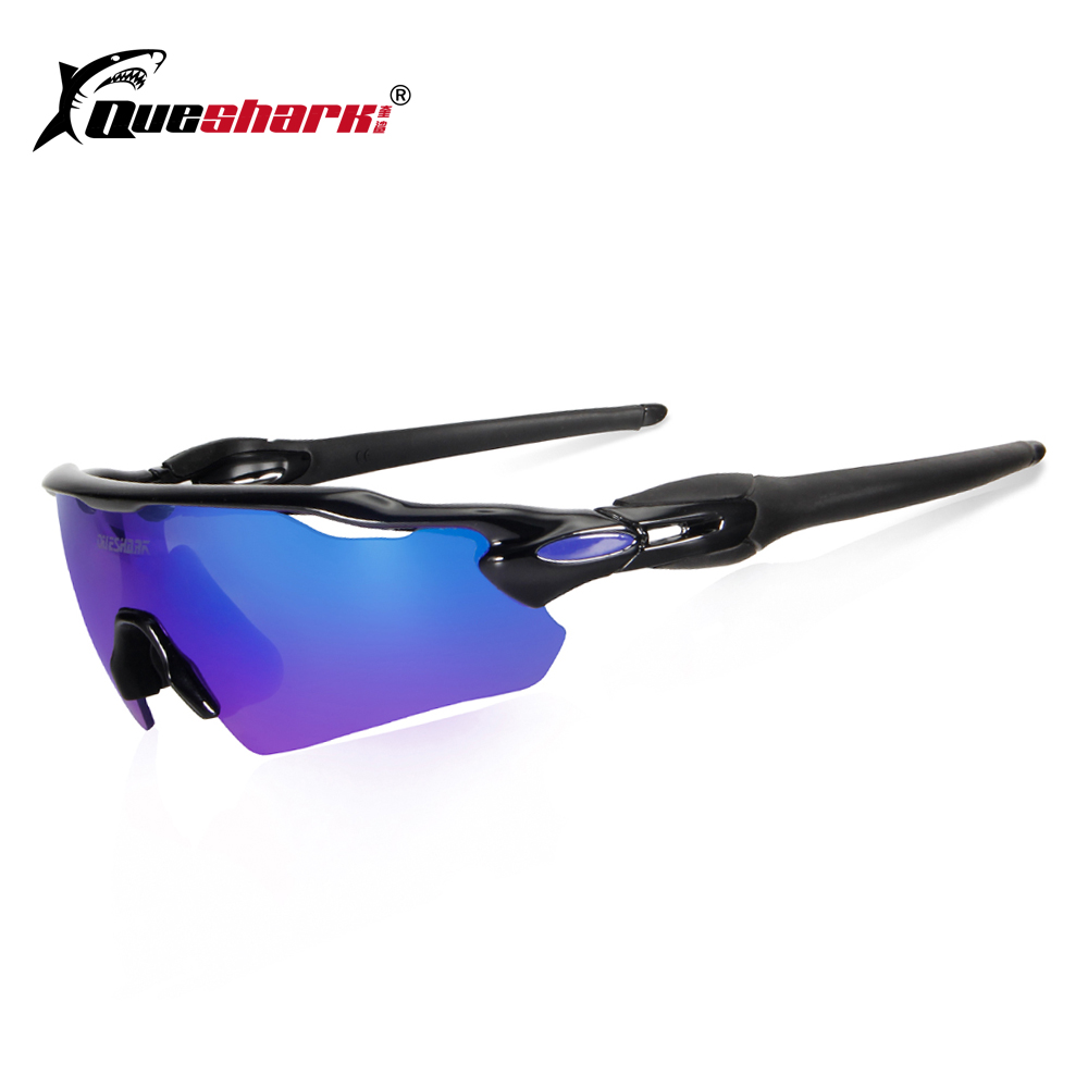 8f6c9a9843 Detail Feedback Questions about QUESHARK Ultralight 3 Lens Polarized  Cycling Eyewear Outdoor Racing Goggles MTB Bike Glasses Red Lens Uv400  Bicycle ...