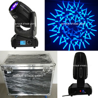(2lights+flycase)Professional lighting robe pointe copy r10 280w beam spot wash 3 in 1 dmx 280 spot moving head light