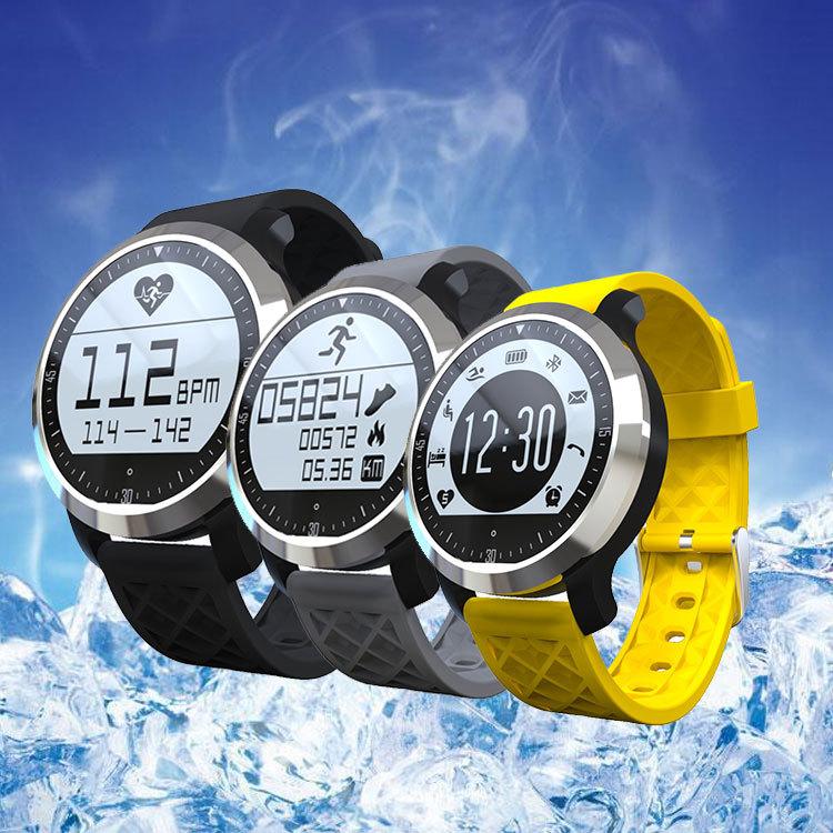 F69 caliente bluetooth smart watch muñeca smartwatch smartwatch para android dis