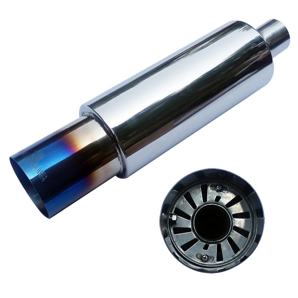 NO LOGO ZWQ-Seals 1pcs del Coche 60 mm Di/ámetro Interior del Grafito de Escape de la Cola de tuber/ía Brida Dona Fibra silenciador Anillo de Sello