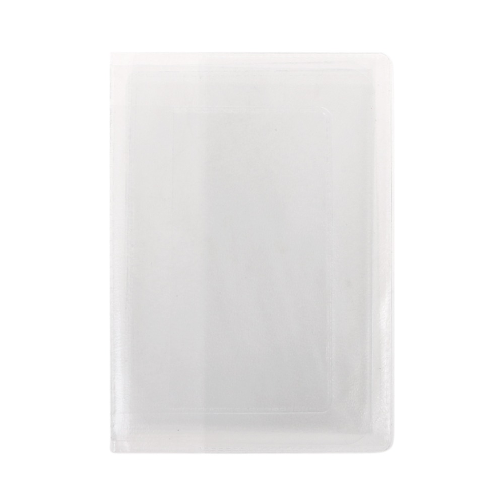 12x9cm PVC Transparent Auto Documents Cover Russian Driver's License Case Protect Car ID Card Holder For Men Women