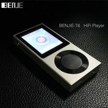 """Benjie original 1.8 """"tft pantalla completa de aleación de zinc sin pérdidas de alta fidelidad reproductor de música mp3 256 gb de almacenamiento externo/bluetooth/aux en"""