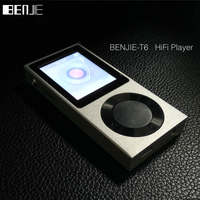 BENJIE Original 1 8 TFT Screen Full Zinc Alloy Lossless HiFi MP3 Music Player Support 256GB