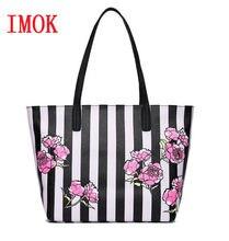 e7915719f Hot Love pink girl bolsa de viaje de lona de viaje para mujer bolsos de  negocios playa rosa flor rayas bolso de hombro bolsas de.