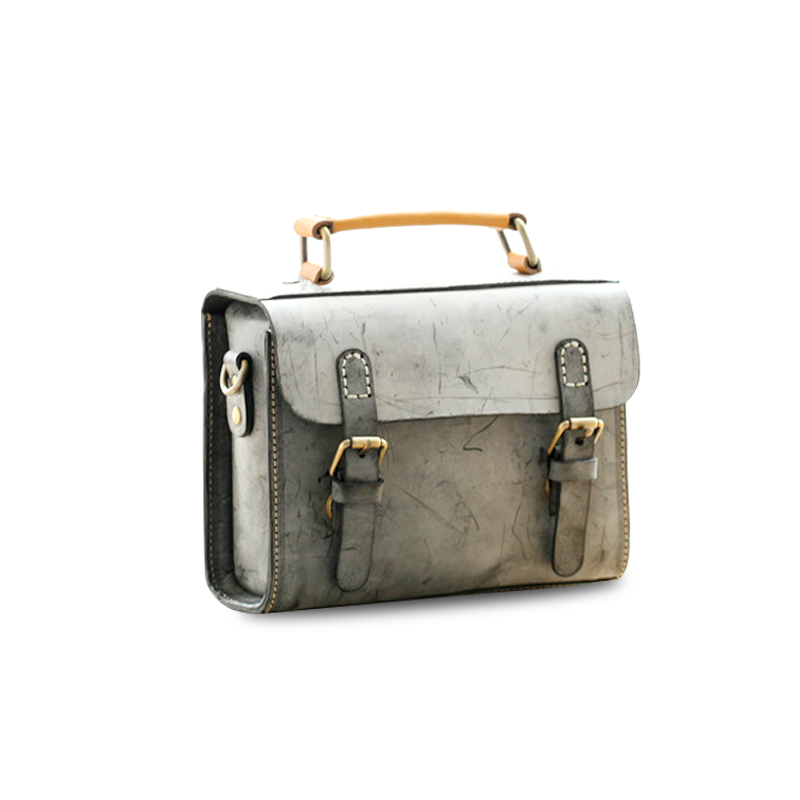 2019 new fashion Bag for Women vintage Shoulder Bag Genuine Leather Lady Slung Bag Mini Female Handbag in Shoulder Bags from Luggage Bags