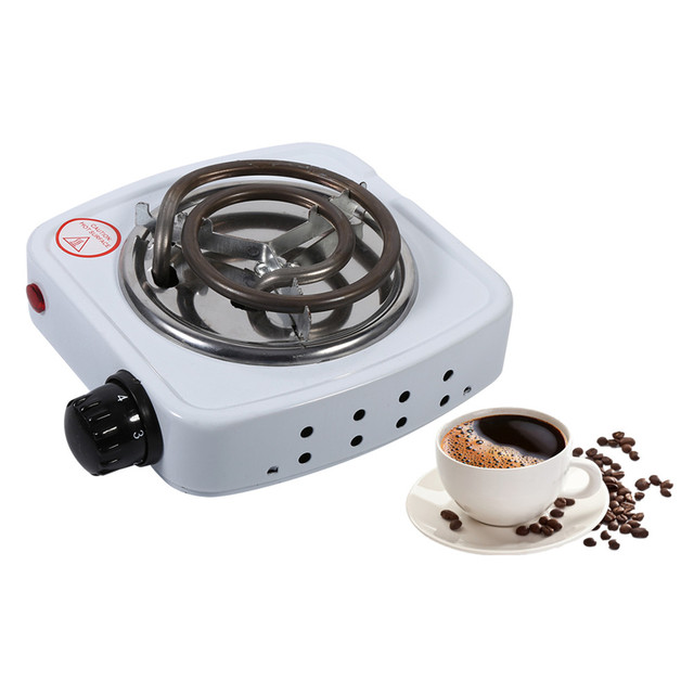 220V 500W Electric Kitchen Stove Multifunction Office Coffee Heater Iron Burner Home Cooking Stove Hot Plate Hotplate EU Plug