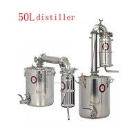 Destilador 50l casa grande capacidade destilador moonshine aço inoxidável