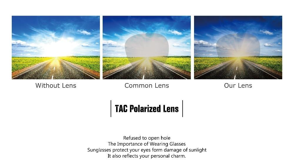 Angcen Polarized Retro Vintage Wooden Sunglasses 14