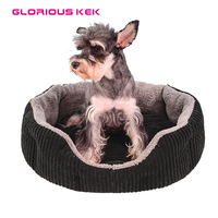 2016 Winter Dog Bed House Warm Corduroy Dog Bed For Small Medium Dogs Soft Waterproof Cat