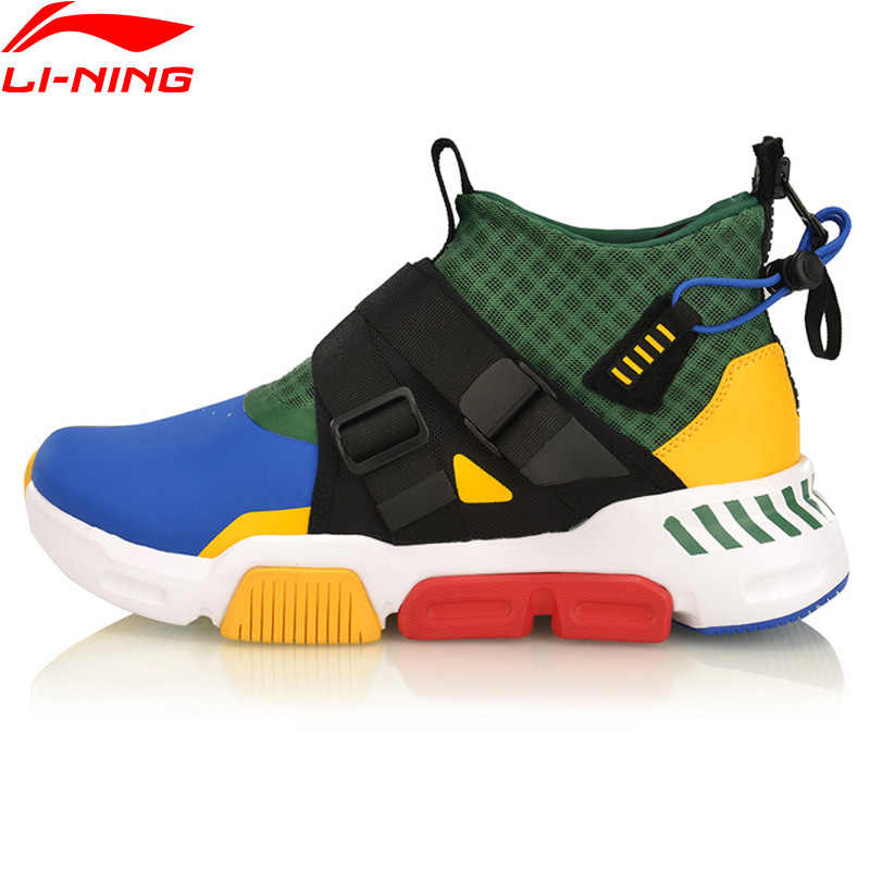 (Clearance)Li-Ning Men SURVIVER K Lifestyle Shoes Anti-Slippery LiNing Leisure Sport Shoes Comfort Sneakers AGLP037 YXB271