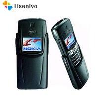 Оригинальный Восстановленный Мобильный телефон Nokia Titanium 8910i gsm Dualband разблокированный телефон с крашеным корпусом английская и русская клав