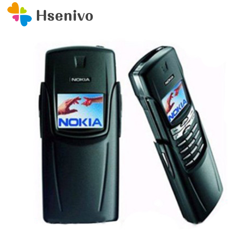 Original Refurbished NOKIA Titanium 8910i Mobile Phone GSM DualBand Unlocked Repaitned Housing English Russian Keyboard