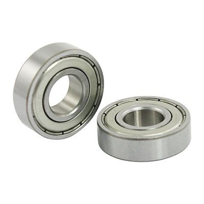 12mm X 28mm X 8mm 6001Z Shielded Deep Groove Radial Ball Bearing