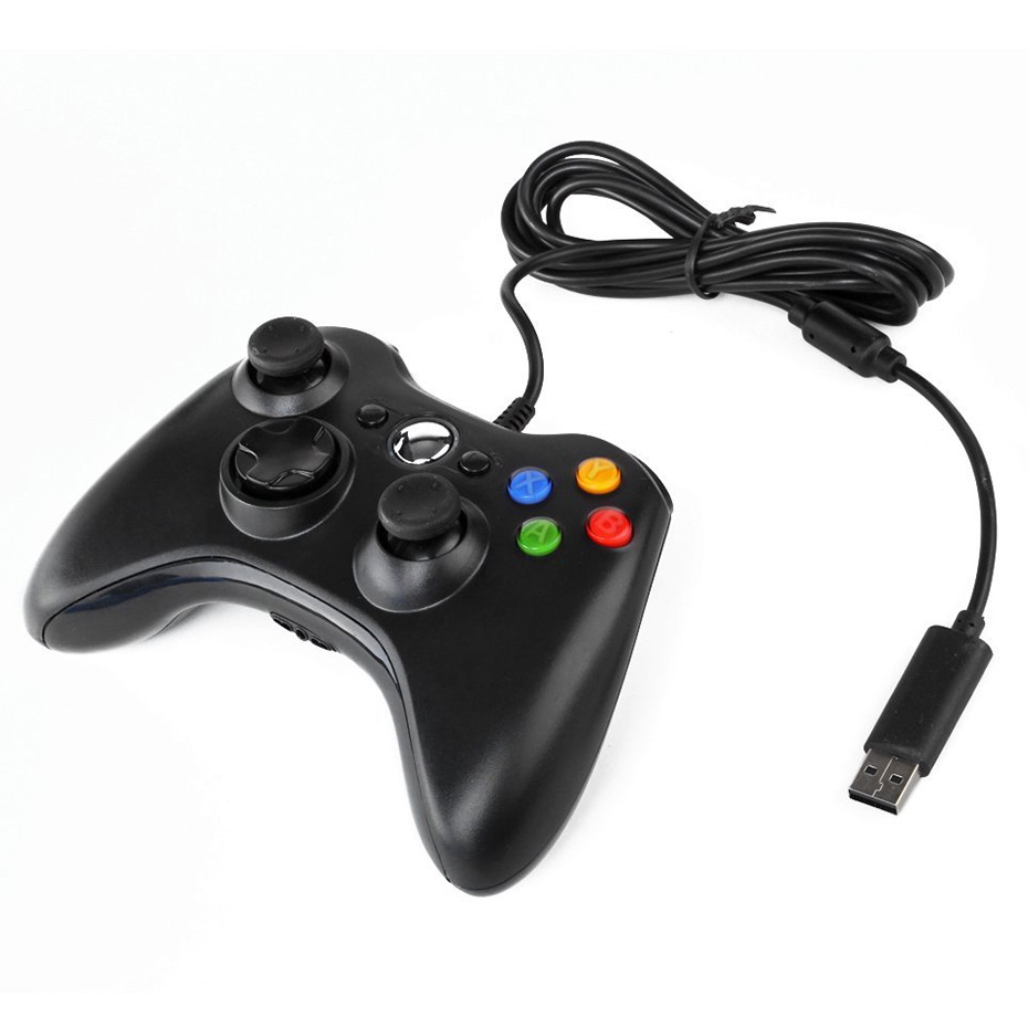 Wired USB Controllers For Xbox 360 Controllers Wired Gamepad Gaming ...