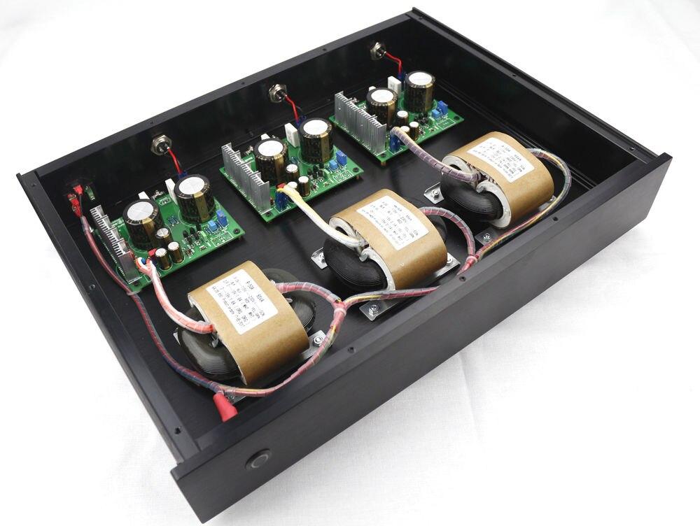 GZLOZONE Hi end 3 Way S11 bardzo niski poziom hałasu liniowy zasilacz DC5V + DC9V + DC12V LPS w Wzmacniacz od Elektronika użytkowa na  Grupa 1