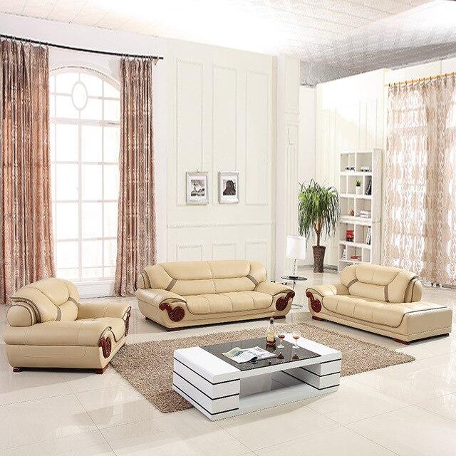 Divano in pelle, divano componibile, soggiorno mobili, 123 sezionale ...