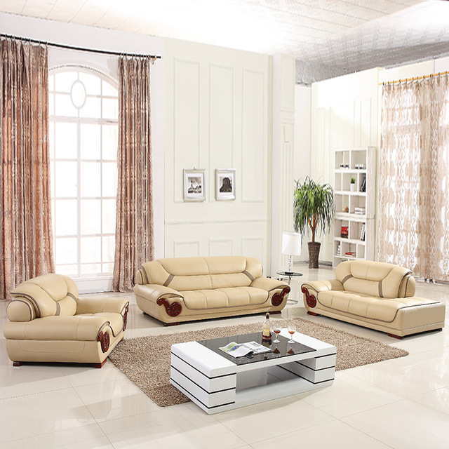 US $885.0 |leather sofa, sectional sofa, livingroom furniture, 123sectional  sofa corner sofa export wholesale-in Living Room Sofas from Furniture on ...
