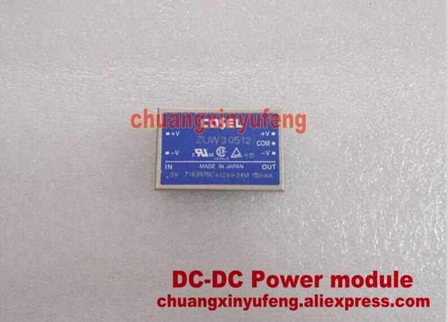 ZUW30512 COSEL DC-DC Power module DC5V-+12V-12V3W isolated power supply module Double set of output