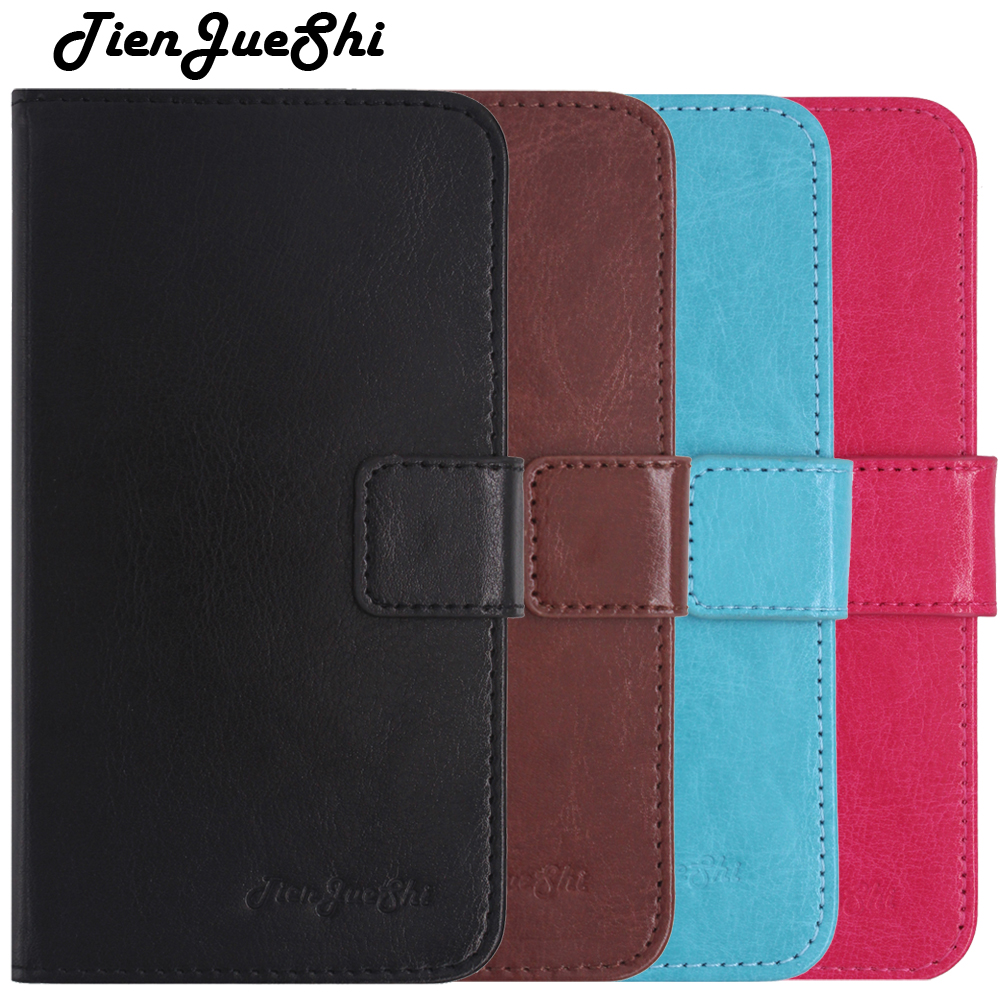 TienJueShi Flip Colour Book-Stand TPU Silicone Protect Leather Cover Shell Wallet Etui Skin Case For Wiko View 2 pro 6 inch
