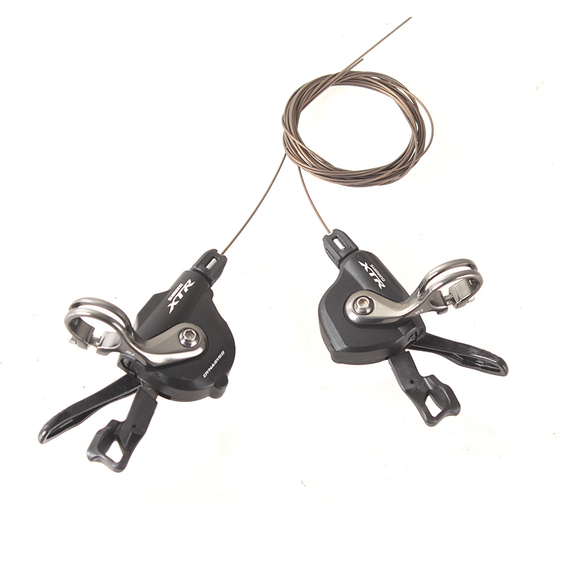SHIMANO X.T.R SL M9000 Thumb Shifter Left & Right MTB Mountain Bike Derailleurs 11s/22s/33s Speed Bicycle Transmission shimano x t r sl m9000 thumb shifter left