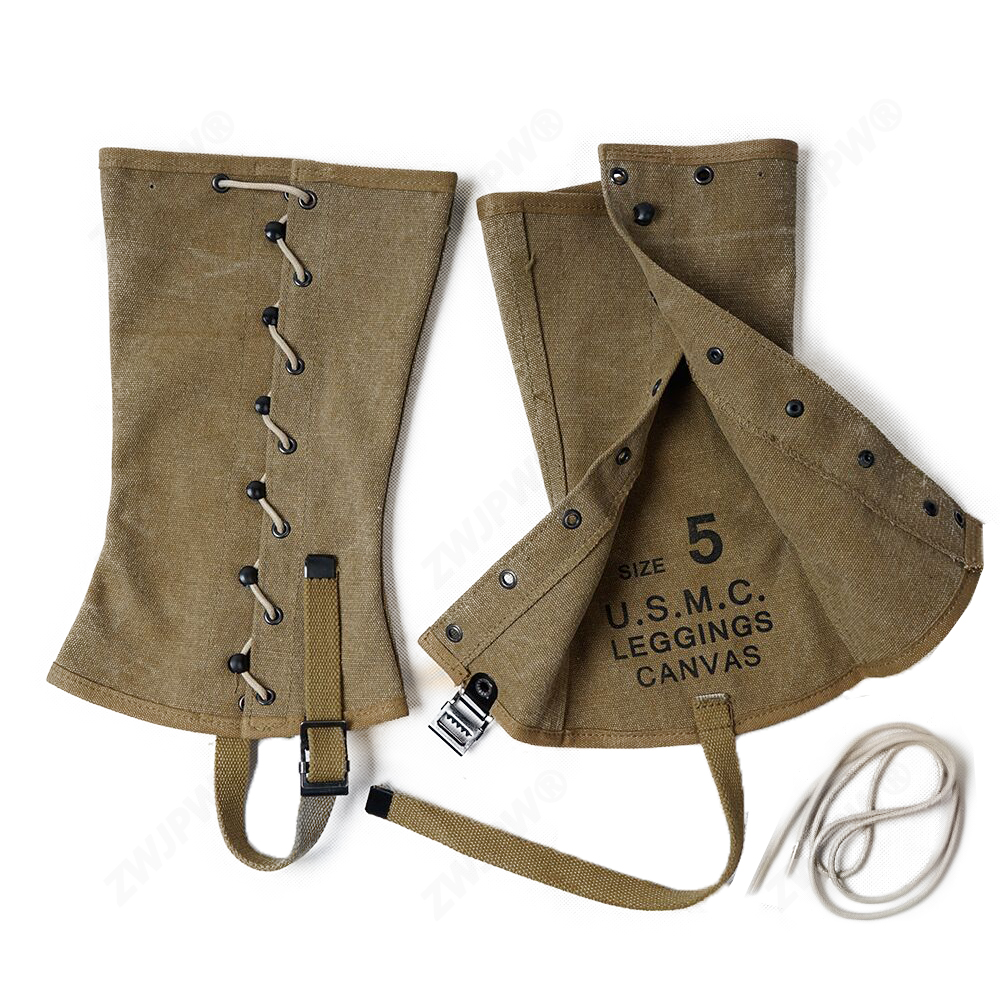 WWII WW2 US Army USMC Outdoors Canvas Leggings Feet Wear  US/5033063-in Helmets from Sports & Entertainment on AliExpress - 11.11_Double 11_Singles' Day 1