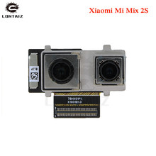 High quality Tested Working Main Big Rear Back Camera For Xiaomi Mi Mix 2s mix2s Flex Cable Replacement Phone Parts цена