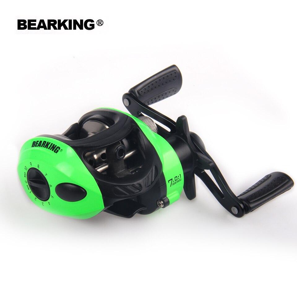 Bearking caliente + serie 2018 nuevo Mela peso súper ligero cuerpo Max 7,0: 1 fresco/pesca en agua salada carrete giratorio