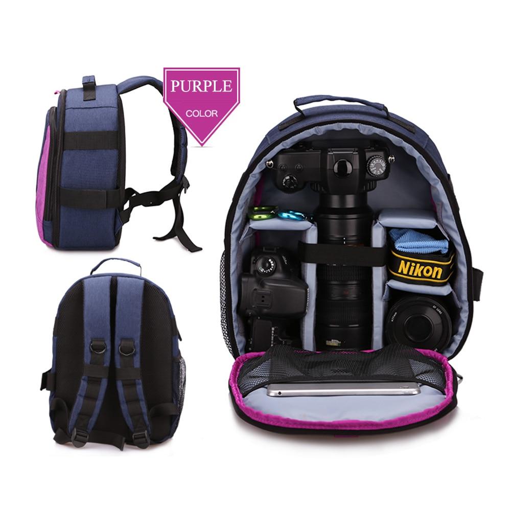 Camera/video Bags Huwang Multifunctional Dslr Camera Bag Outdoor Photography Travel Backpack Photo Accessories Bag For Nikon Canon Dslr Camera Consumer Electronics